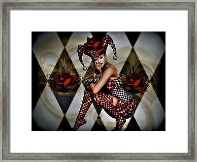 Jester Abrienda Framed Print by G Berry