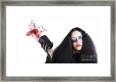 Jester Throwing Away Wine Framed Print by Jorgo Photography - Wall Art Gallery
