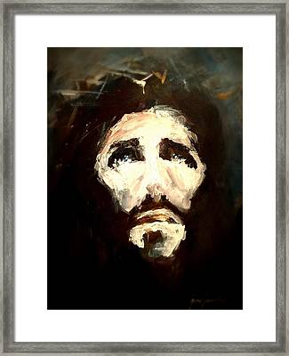 Jesus - 2 Framed Print by Jun Jamosmos