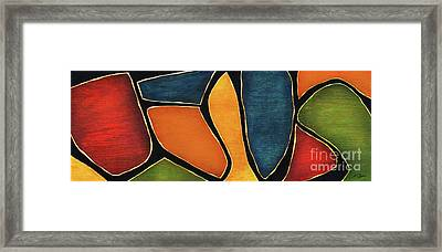 Jesus - Abstract Framed Print