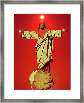 Jesus Bless No. 01 Framed Print