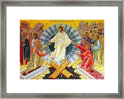 Jesus Bliss Framed Print