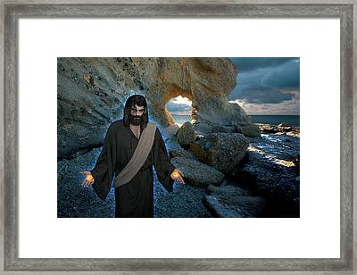 Jesus Christ- And Surely I Am With You Always Framed Print