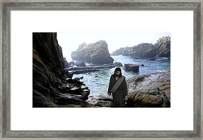 Jesus Christ- Be Not Dismayed For I Am Your God Framed Print