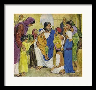Gospel Of Matthew Framed Prints