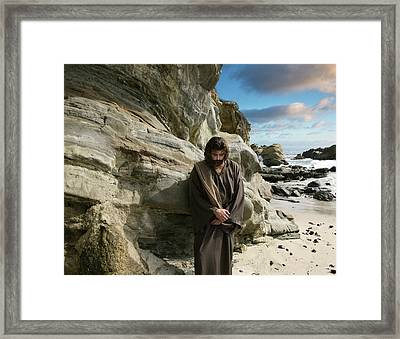 Jesus Christ- I Have Heard Your Prayer And Seen Your Tears I Will Heal You Framed Print