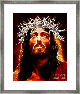 Jesus Christ Our Savior Framed Print