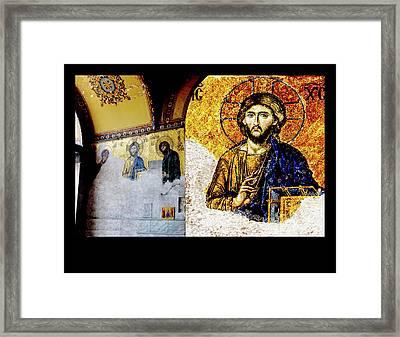 Jesus Christ, Pantocreator Framed Print
