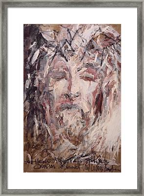 Jesus Christ Framed Print