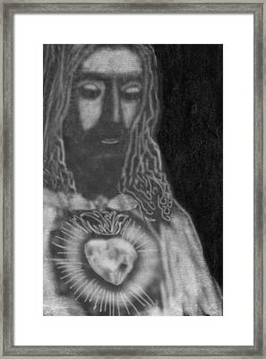 Jesus Christ Framed Print by Art Spectrum