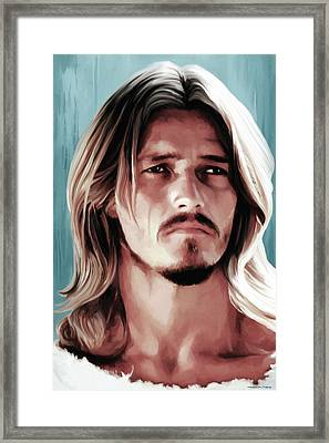 Jesus Christ Superstar Framed Print