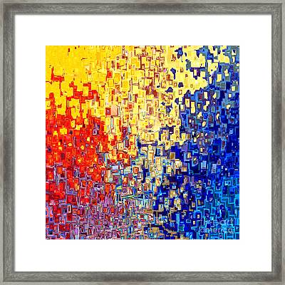 Jesus Christ The Light Of The World Framed Print by Mark Lawrence