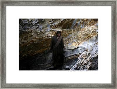 Jesus Christ- The Lord Is My Light And My Salvation Framed Print