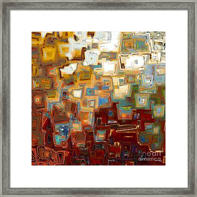 Jesus Christ The Mighty One Framed Print by Mark Lawrence