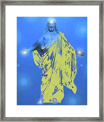 Jesus-energy. No. 11 Framed Print by Ramon Labusch