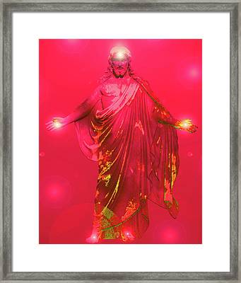 Jesus-energy No. 31 Framed Print