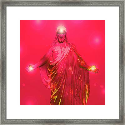 Jesus-energy No. 32 Framed Print
