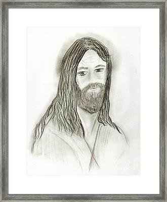 Jesus I Framed Print by Sonya Chalmers