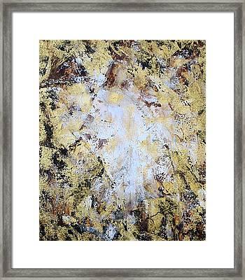 Jesus In Disguise Framed Print