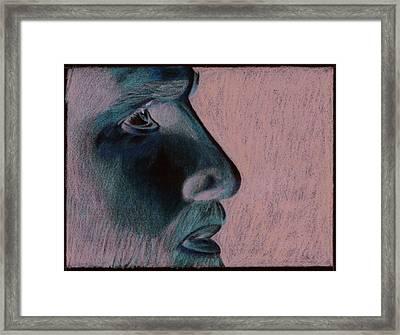 Jesus Framed Print by Jason McRoberts