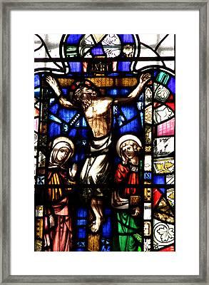 Jesus Framed Print by Jez C Self