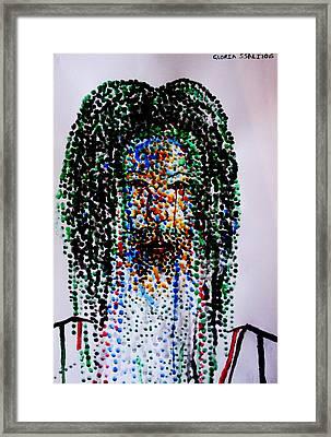 Jesus Lion Of Judah Framed Print