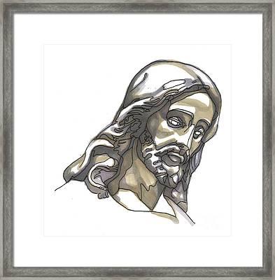 Jesus No 1 Framed Print by Edward Ruth