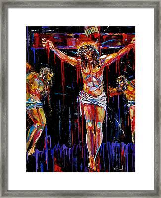 Jesus Of Nazareth Framed Print by Debra Hurd