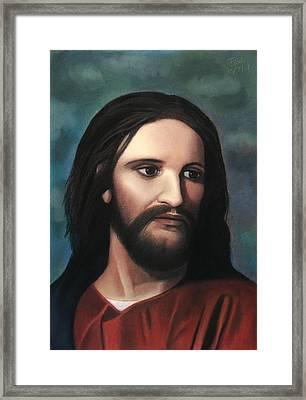 Jesus Of Nazareth - King Of Kings Framed Print