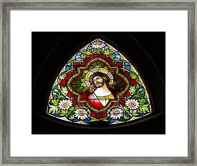 Jesus Redeemer Framed Print by Stephen Stookey