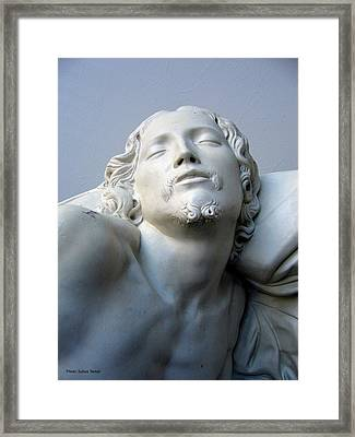 Jesus Framed Print by Suhas Tavkar
