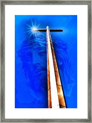 Jesus Wept Framed Print by JoeDes Photography