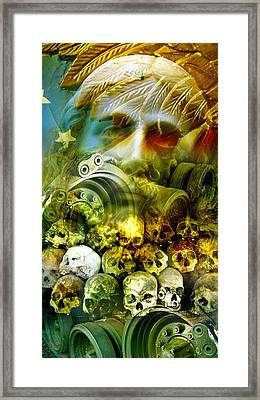 Jesus Wept Framed Print by Skip Hunt