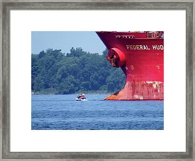 Jet Ski Framed Print