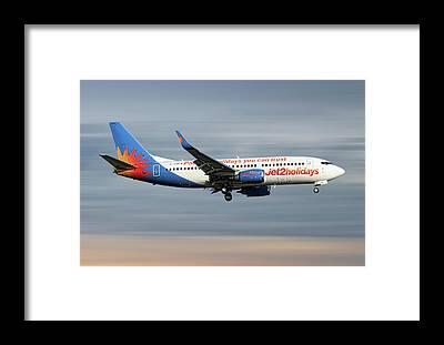 Jet2 Framed Prints
