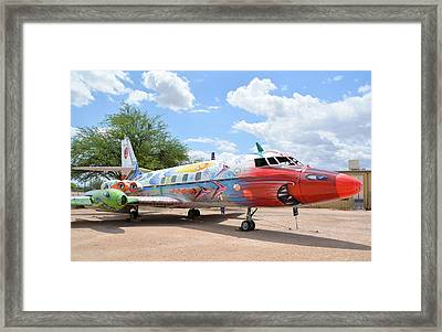 Jetstar Framed Print by Matt Abrams