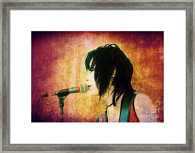 Jett Style Framed Print by Billie-Jo Miller