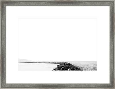 Jetty No. 02 Framed Print