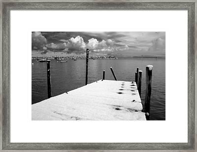 Jetty, Rhos-on-sea Framed Print