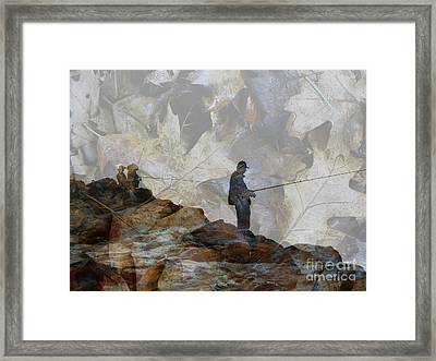Jetty Framed Print by Robert Ball