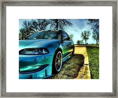 Jewel 6 Framed Print
