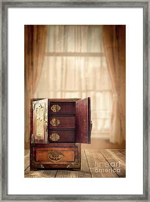 Jewel Cabinet Framed Print