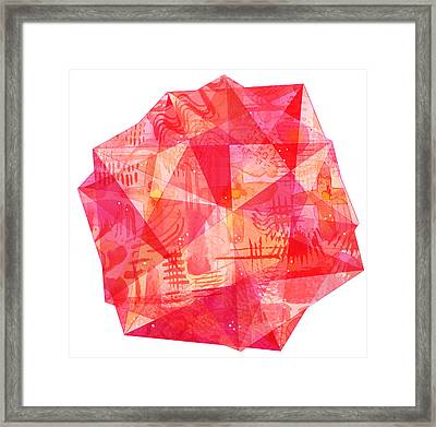 Jewel Framed Print by Nic Squirrell
