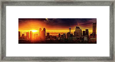 Framed Print featuring the photograph Jewel Of The Foothills by John Poon