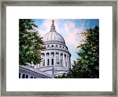 Jewel Of Wisconsin Framed Print