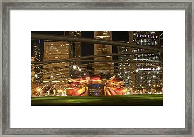 Jewel Toned Pritzker Framed Print