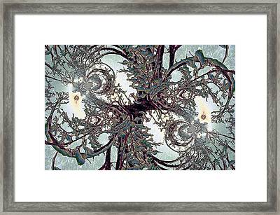 Jewel Tree Framed Print