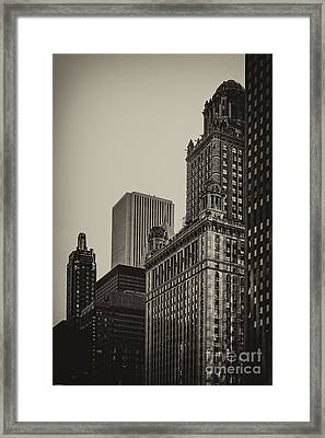 Jewelers Building Framed Print by Andrew Paranavitana