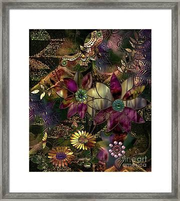 Jewelry Box Garden Framed Print