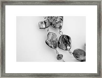 Jewels Framed Print by Lisa Killins